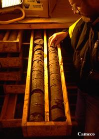 Uranium Core Samples