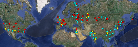 Some 23 300 Nuclear Weapons Are Stored At 111 Locations Around The World Click For Map